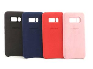 Замшевые чехлы Samsung galaxy S8 Alcantara cover