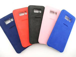 Замшевые чехлы Samsung galaxy S8 Plus Alcantara cover