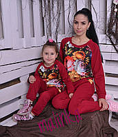 Комплект костюмов - 810 грн, мама-460 грн и дочка- 400 грн