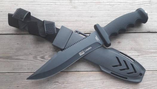 Нож армейский охотничий тактический Columbia USA Спецназ 1228А +пластиковый чехол