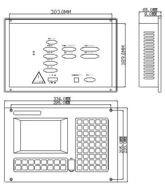 Система ЧПУ CNC4620 + панель оператора + выносной пульт