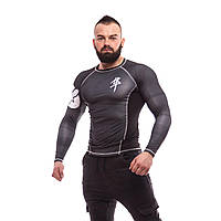 Рашгард Hayabusa Metaru Black — Long Sleeves