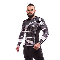 Рашгард Hayabusa Metaru Black&White — Long Sleeves