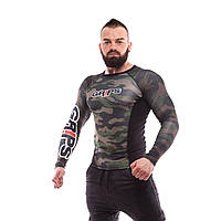 Рашгард Grips Athletics Camo Snake — Long Sleeves