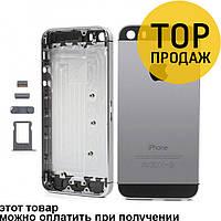 Корпус Apple Iphone 5s Space Gray / Корпус для мобильного телефона Айфон, Айфона
