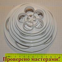 Вырубки роза – пятилистник большие, 6 шт, пластик, фото 1