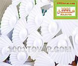 Антиковзаючий килимок для ванної на присосках Маки і метелики, фото 2
