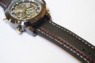 Мужские армейские часы AMST 3003 Black Red Оригинал