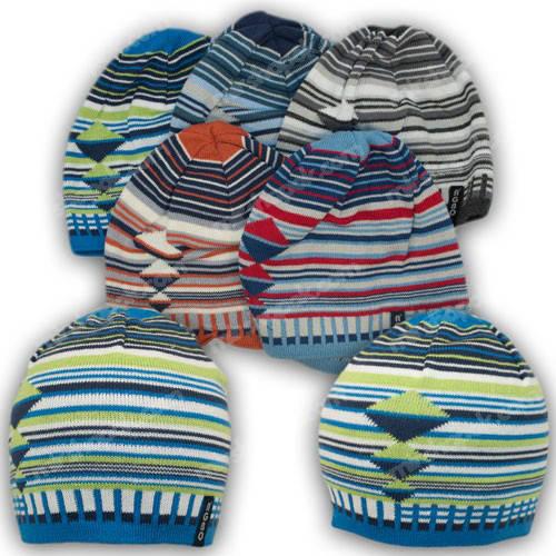 Вязаные шапки для мальчикоа, р. 46-48