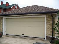 Ворота гаражные секционные Белый