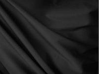 Ткань костюмная николь гладкокрашеная черная
