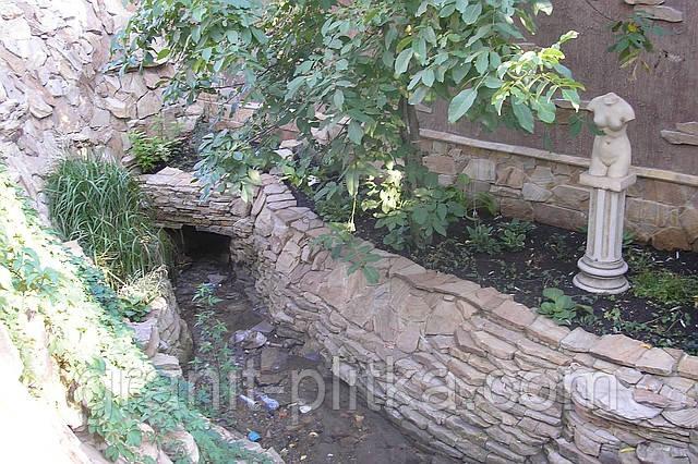 Гранит в ландшафтном дизайне в Житомире