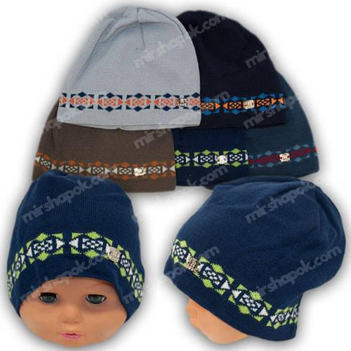 Детские шапки для мальчиков, р. 46-48