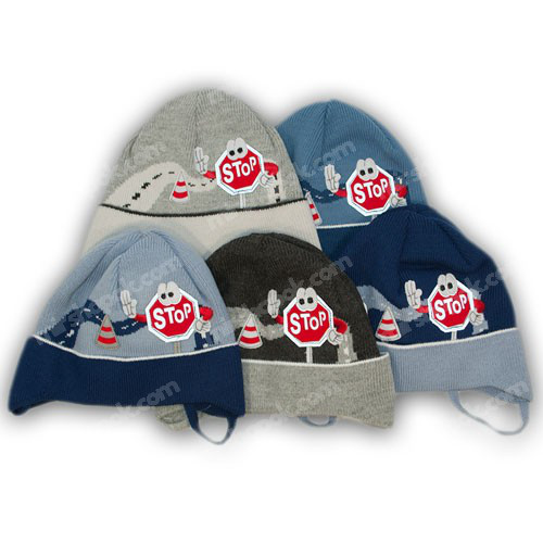 шапки с завязками для мальчиков