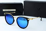 Солнцезащитные очки круглые Gentle Monster синие, фото 1