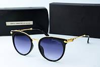 Солнцезащитные очки круглые Gentle Monster черные, фото 1