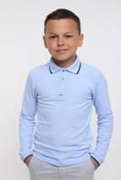 Футболка-поло с длинным рукавом на мальчика (114540, 114541), Smil