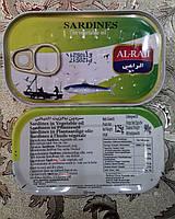 Сардина в растительном масле 125 г