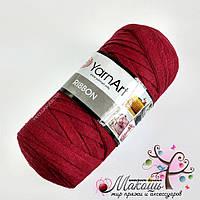 Пряжа Риббон Ribbon YarnArt, № 781, бордо