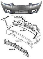Бампер передний Chevrolet Aveo 2006-2012 , T250 FPS