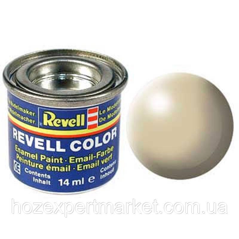 Краска Revell эмалевая, № 314 (шелковисто-бежевая матовая)