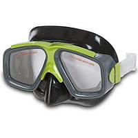 Маска для плавания Intex 8+ Зеленая (55975)