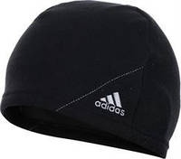 Черная теплая шапка Адидас CLIMA WARM BEANIE G70617 со скидкой