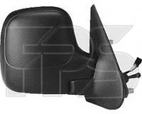 Зеркало, правое, механическое, с подогревом, сферическое, Citroen / Peugeot, Berlingo / Partner, 2002-2007, FPS