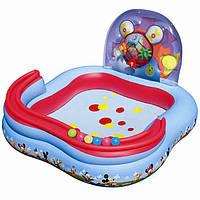 Игровой бассейн Bestway 91015 Микки Маус