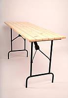 Узкий складной стол 1200х600х760