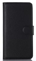 Кожаный чехол книжка для LG Google Nexus 5 E980 D820 D821 черный