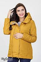 Курточка emma для беременных на демисезон (горчица)  s Юла мама