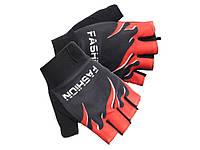Перчатки спортивные для велосипедиста Outerdo-Fashion  Красный