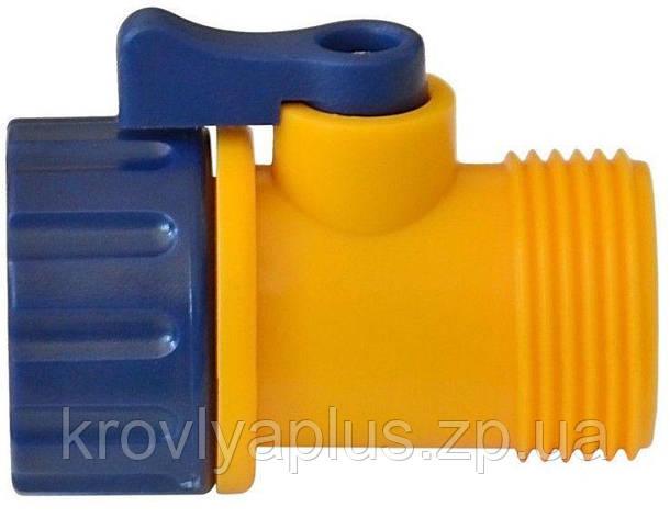 Кран-Распределитель с одним выходом для полива  Verano , фото 2