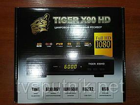 Спутниковый тюнер Tiger X90HD (прошитый с каналами)