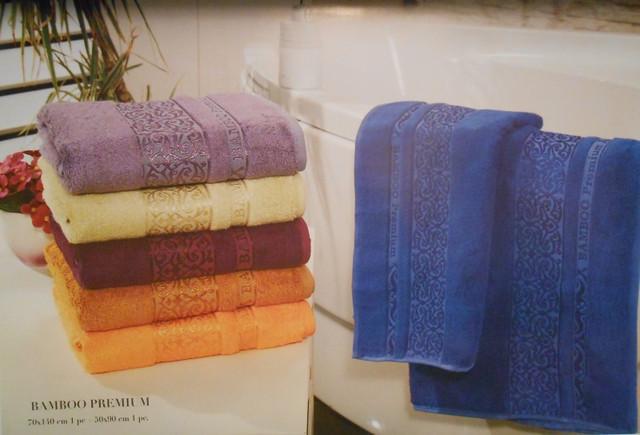Бамбуковые полотенца 70*140 см, банные