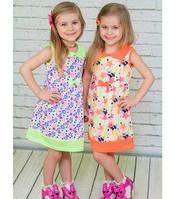 Платье летнее для девочки Артикул 44.0952
