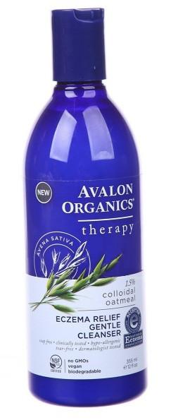 Нежное средство для мытья кожи с симптомами экземы * Avalon Organics (США) *