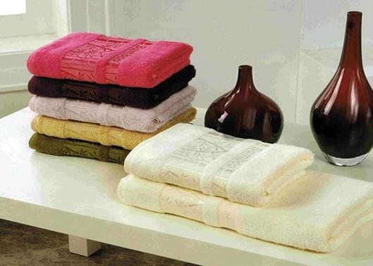 Бамбуковые полотенца 50*90 см, лицевые
