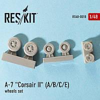 Смоляные колеса для самолета A-7 (A/B/C) Corsar II