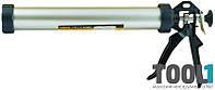 Пистолет для герметиков Sigma 375мм 610мл (алюм туба) (2723071)