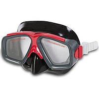 Маска для плавания Intex 8+ Красная (55975)