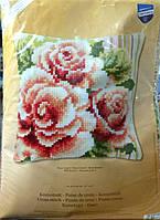 VERVACO Набор для вышивания Подушка / Розовые розы