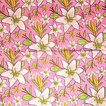 Декупажні серветки Лілії на рожевому тлі 85