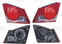 Фонарь задний, левый, Honda, Civic, 2006-2011, Depo