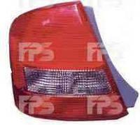 Фонарь задний, правый, Mazda, 323, 1998-2001, Depo