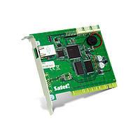 STAM-1 RE плата расширения для STAM c мониторингом по сети TCP/IP Охранная сигнализация Мониторинг