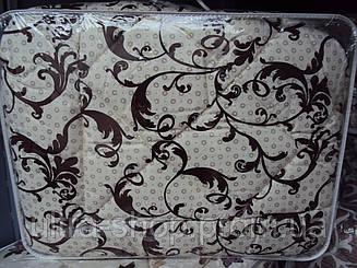 Одеяло Шерстяное в бязи двуспальное без чемодана