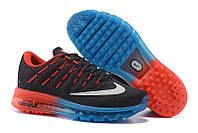 Кроссовки Nike Air Max 2016 Black Blue Red, фото 1