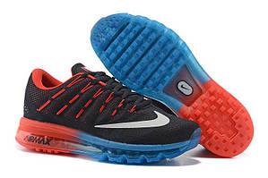 Кроссовки Nike Air Max 2016 Black Blue Red